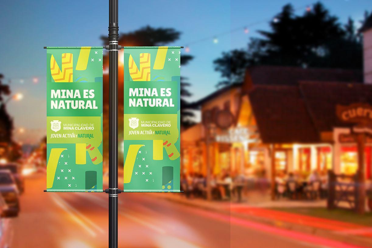 Branding Municipalidad Mina Clavero